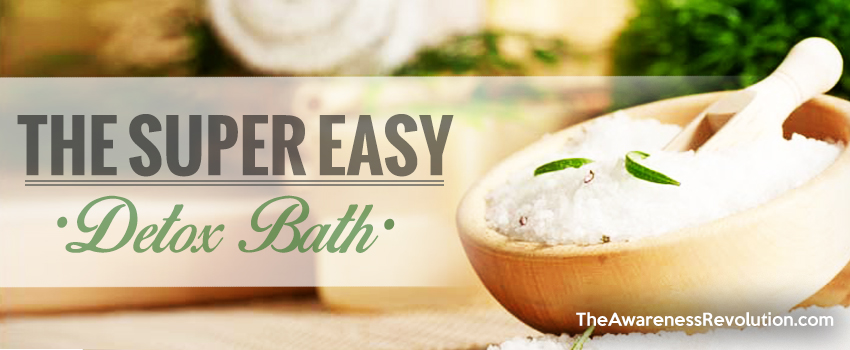Super Easy Detox Bath
