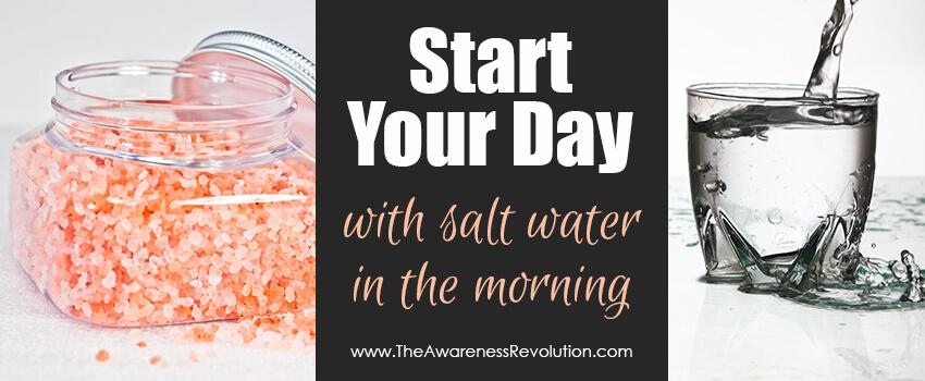sea salt & water