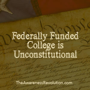 federally funded college is unconstitutional