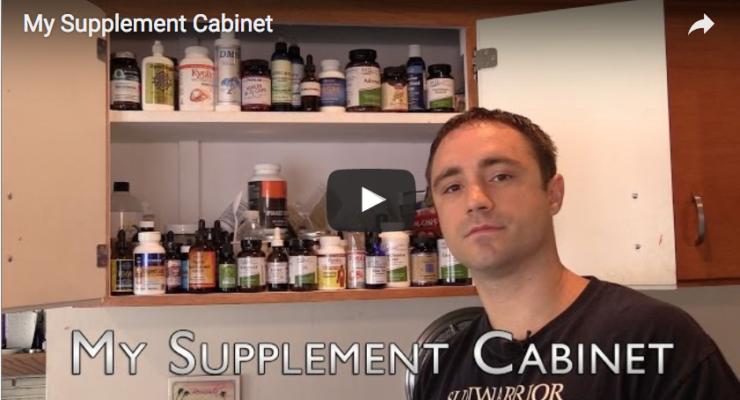 My Supplement Cabinet (MSM, Vitamin D,C,B12)