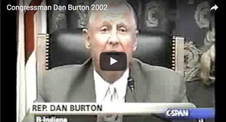 Congressman Dan Burton Questioning CDC