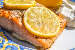 Salmon & Orange