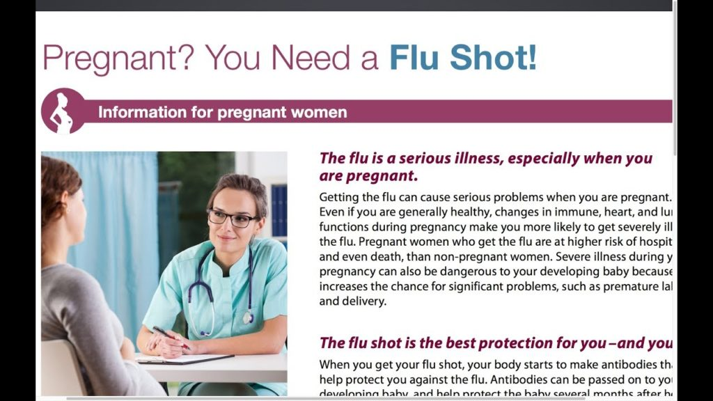 Proof The CDC Lies About Flu Shot Being Safe For Pregnant Women
